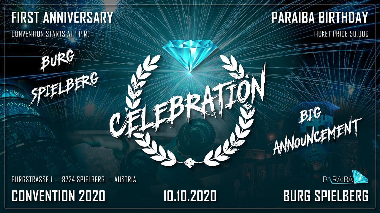 PARAIBA WORLD 1. BIRTHDAY